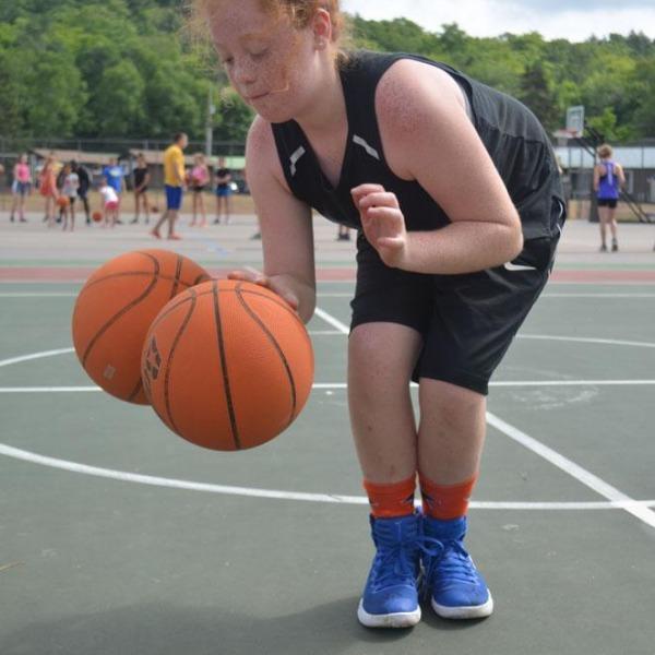 Basketball camp, session 4, 2018